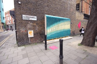 Billboards by Giles Miller and British Ceramic Tiles