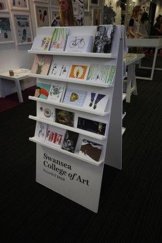 Swansea College of Art Postcard A-Board