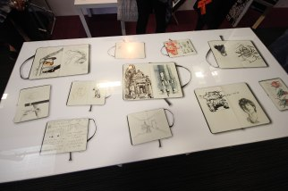 Swansea College of Art - Clever sketch book table