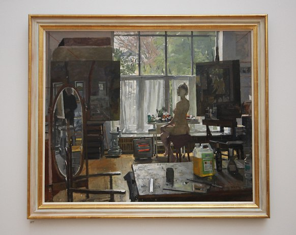 877-Sarah and the rustins still life:Ken Howard Oil