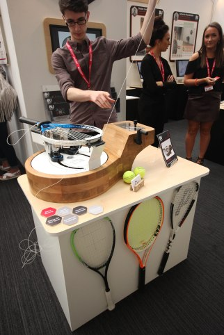 David Walling - Bournemouth University. Racket Stringing Machine