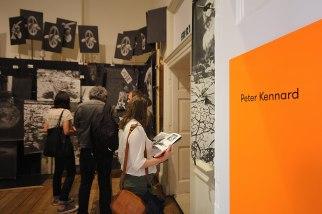 44. Peter Kennard installation room