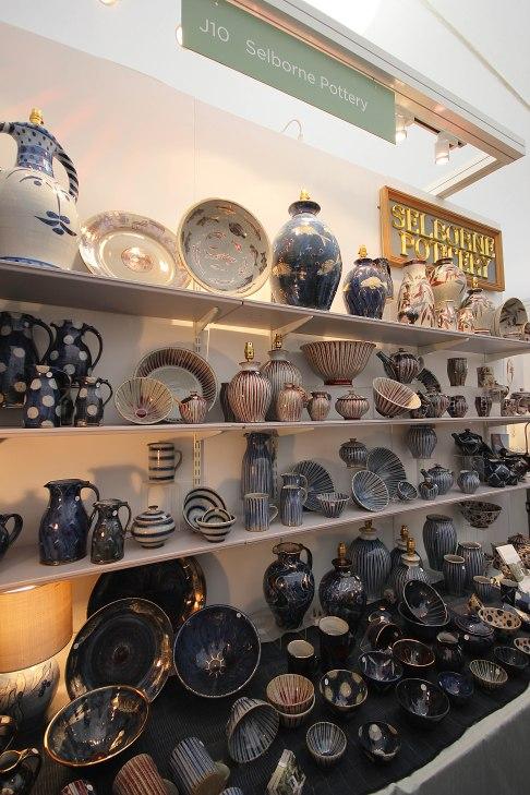 selborne-pottery-display