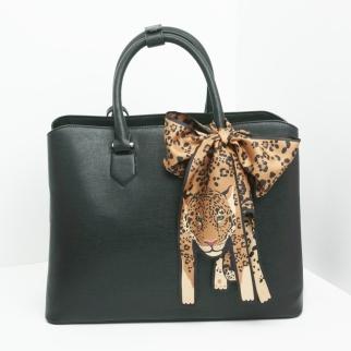 Mini+Gold+Jaguar+Twilly+Silk+Scarf+3+-+designer+silk+scarf+-+Jaguar+Print