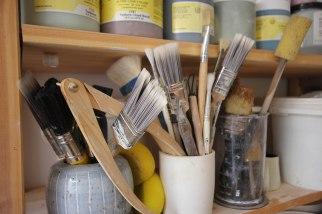 Paintbrush Pots