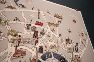 Katie Cardew - London map closeup
