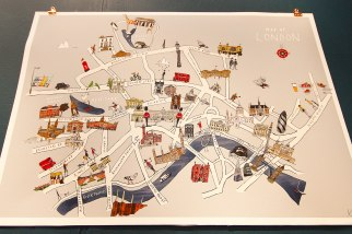 Katie Cardew - London Map New