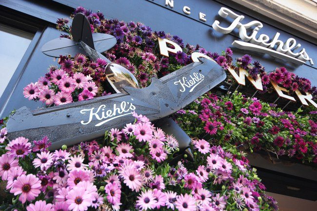Kiehls Floral Display Close up
