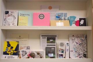 Press Area - Material Shelves