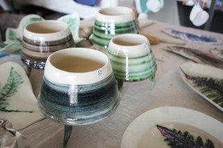 Moss Stitch Ceramics - Pots with legs
