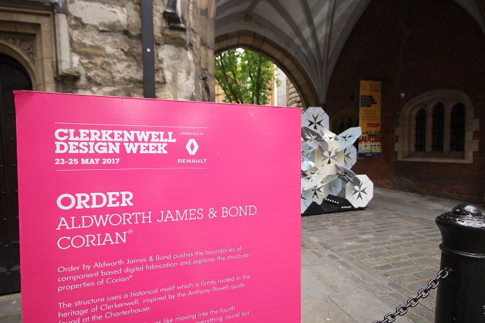 Order - Aldworth James & Bond In Corian