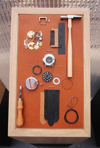 Shinola Watch parts.