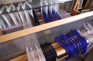 Thread up the loom