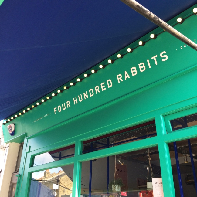 Four Hundred Rabbits Front